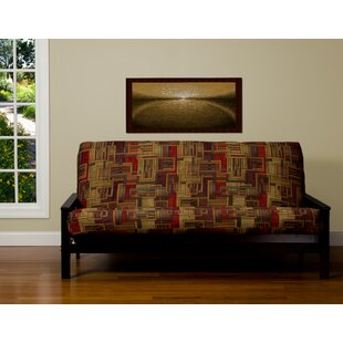 Opalo Zipper Box Cushion Futon Slipcover by Alcott Hill