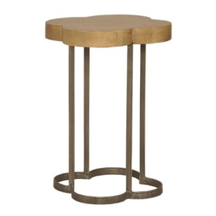 Cloverleaf End Table