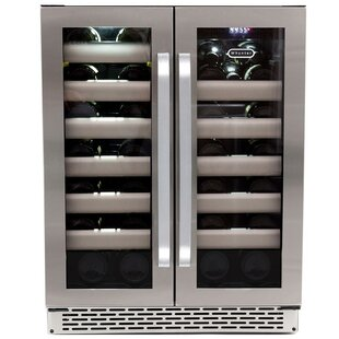 40 Bottle Elite Dual Zone Convertible Wine Cooler by Whynter