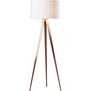 Modern tripod floor lamps teterboro 6025 tripod floor lamp aloadofball Gallery