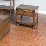 Jolicoeur Storage End Table by Loon Peak®