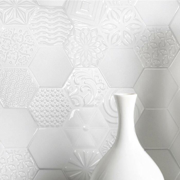 Spade Versailles 8 X 10 Ceramic Field Tile