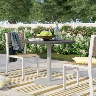 Caspian Stone/Concrete Bistro Table by Sol 72 Outdoor