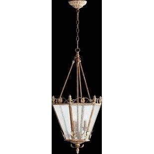 Paladino 3-Light Foyer Pendant by One Allium Way