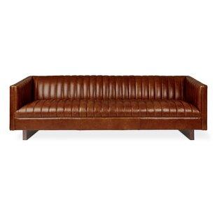 Wallace Leather Sofa