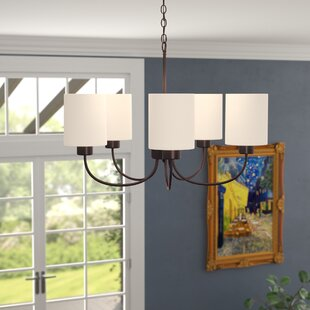 Graham 5-Light Shaded Chandelier by Alcott Hill