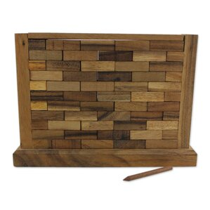 Stacking Wood Wall Table Top Game