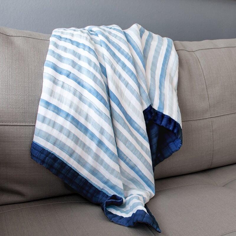 Oh So Soft Muslin Snuggle Blanket