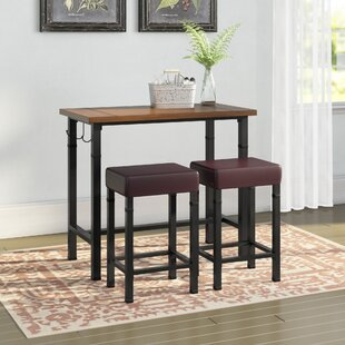 Sevigny 3 Piece Pub Table Set By Laurel Foundry Modern Farmhouse