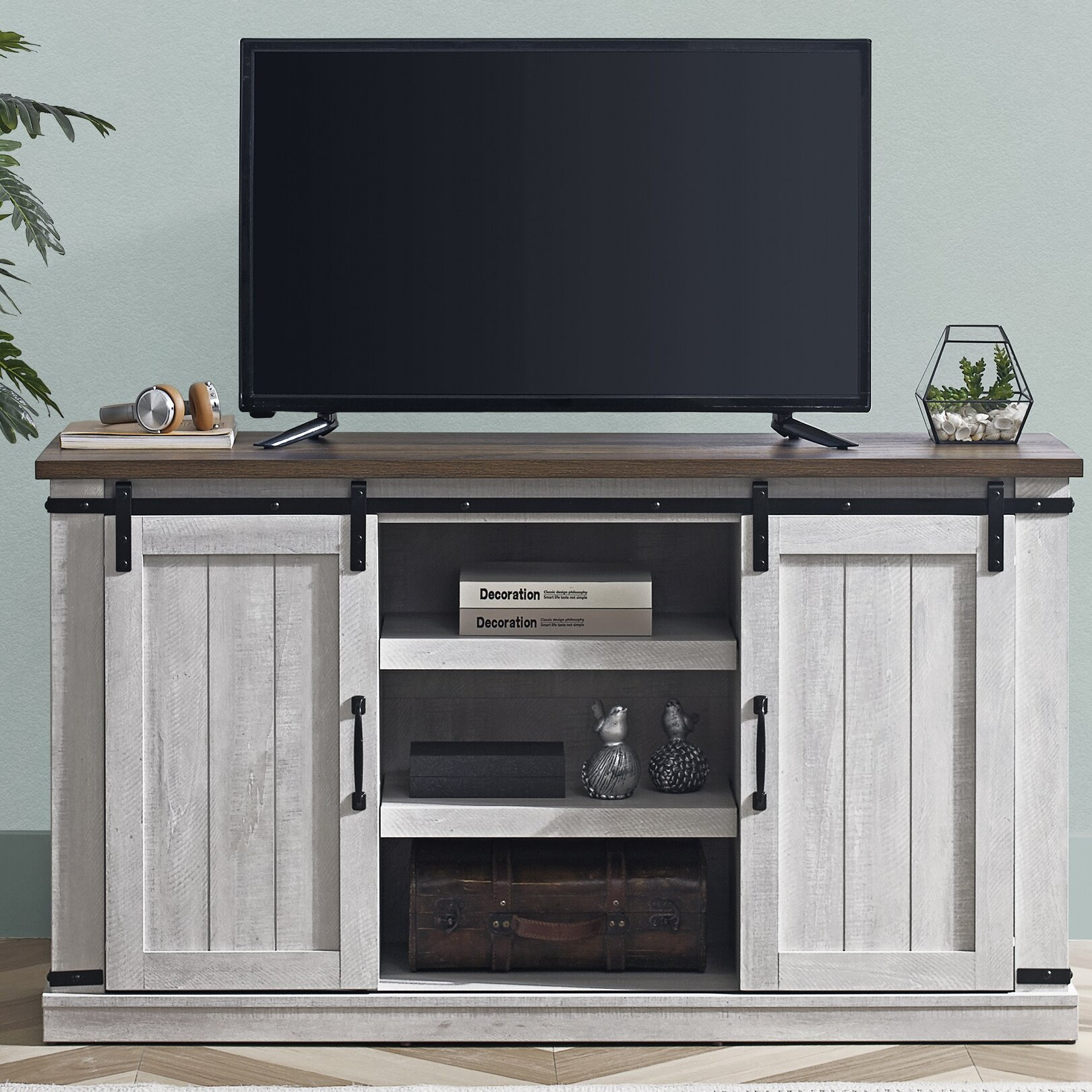Laurel Foundry Modern Farmhouse Emanuel Tv Stand For Tvs Up To 60 Reviews