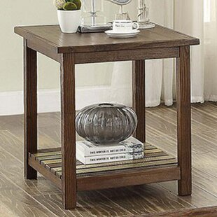 Millwood Pines Weatherall End Table