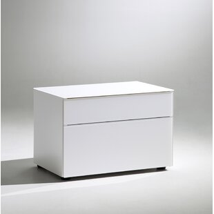 YumanMod Floris 2 Drawer Nightstand