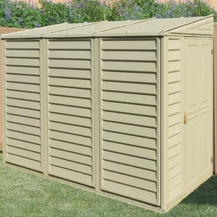 Delicieux D Plastic Lean To Storage Shed