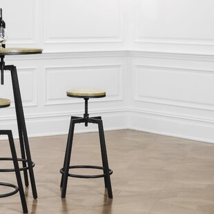 Adjustable Height Swivel Barstool (Set of 2)