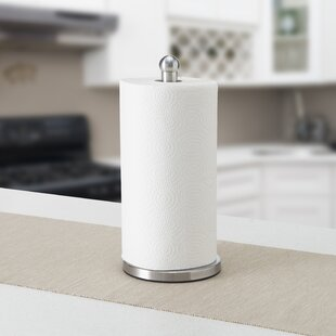 Stainless Steel Free Standing Paper Towel Holder
