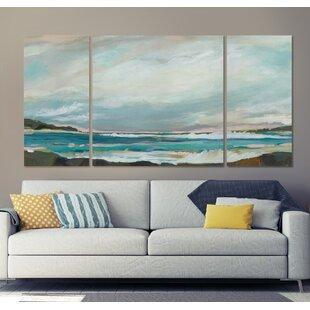 3 Piece Beach Ocean Wall Art You Ll Love In 2021 Wayfair