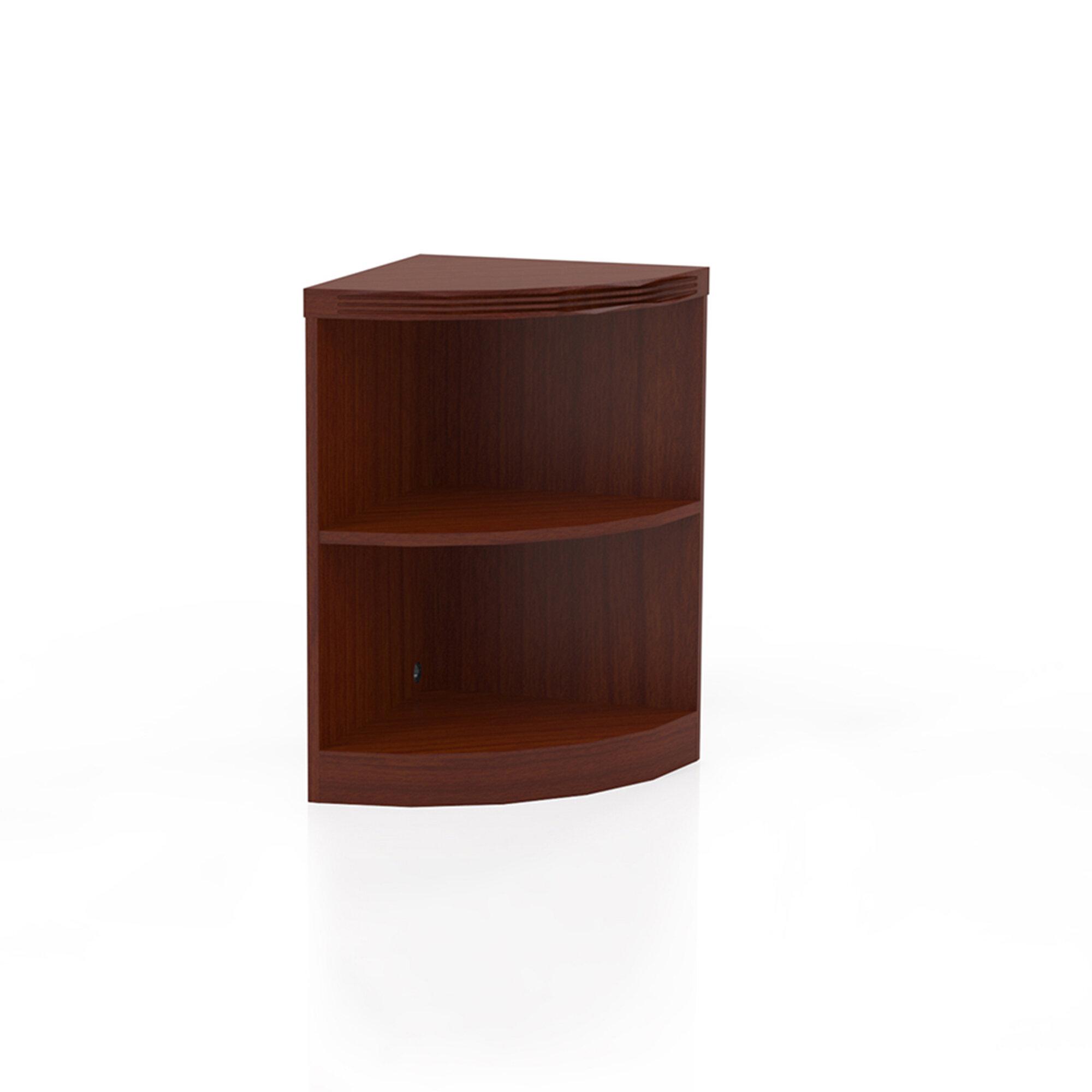 Symple Stuff Umstead Corner Bookcase & Reviews | Wayfair