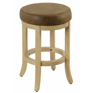 Roopville Wooden 24 Bar Stool by Millwood Pines