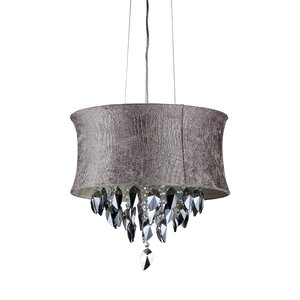 Gator 4-Light Drum Chandelier