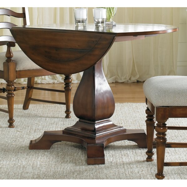 Round Dining Table With A Leaf | Wayfair