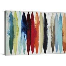 Abstract Wall Art Canvas modern wall art + canvas art | allmodern