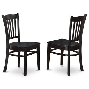 Attrayant Black Wood Kitchen U0026 Dining Chairs Youu0027ll Love | Wayfair