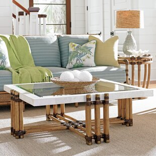 Best Reviews Twin Palms Coffee Table by Tommy Bahama Home