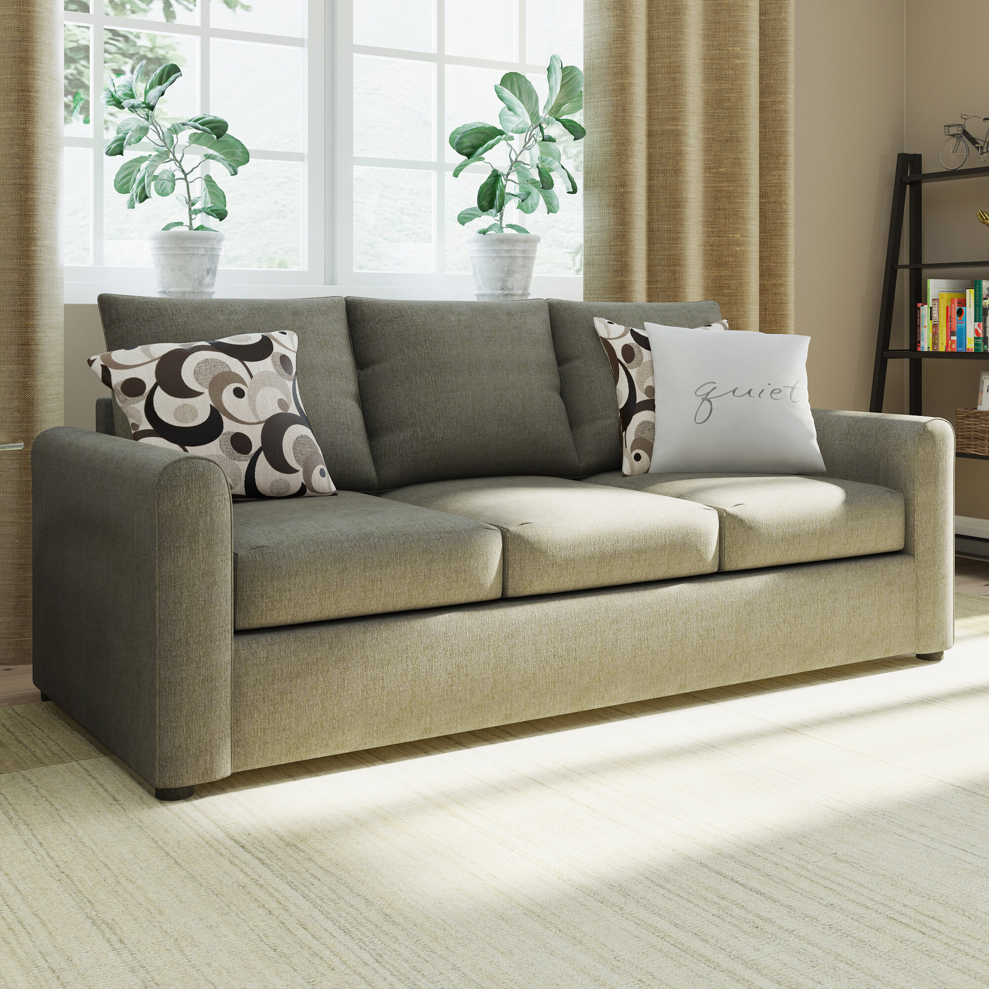 Red Barrel Studio Serta Upholstery Martin House Modern Sleeper Sofa U0026  Reviews | Wayfair