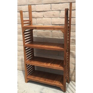 Richas Re-Purposed Wood Standard Bookcase by Loon Peak
