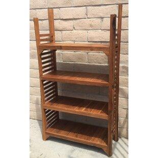 Richas Re-Purposed Wood Standard Bookcase by Loon Peak