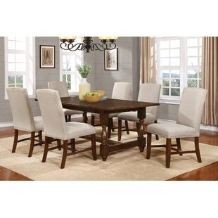 Hoover 7 Piece Solid Wood Dining Set BestMasterFurniture