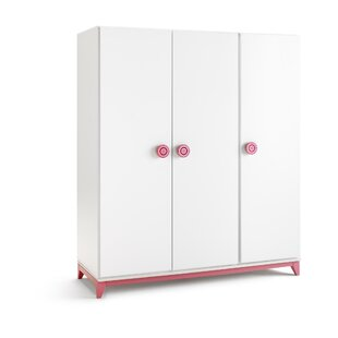 Pamplona 3 Door Wardrobe by Just Kids