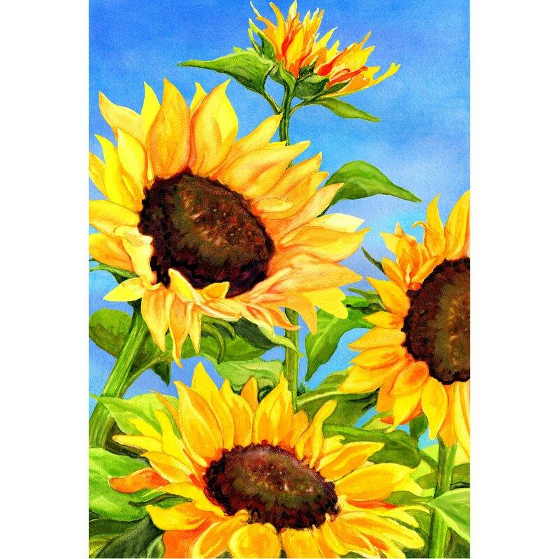Etonnant Sunflowers Garden Flag