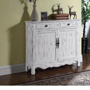 Wilkin Distressed 2 Door Accent Cabinet by Ophelia & Co.