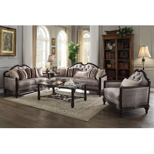 Astoria Grand Beardmore 3 Piece Living Ro..