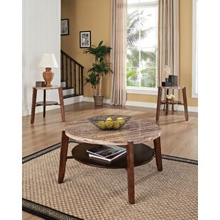 Lovie 3 Piece Coffee Table Set by Fleur De Lis Living