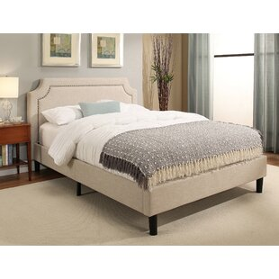 Charlton Home Rios Queen Upholstered Platform Bed