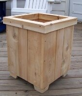 Bar Harbor Cedar Cedar Planter Box