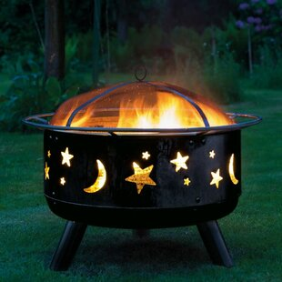 Begley Steel Charcoal And Wood Burning Fire Pit Image