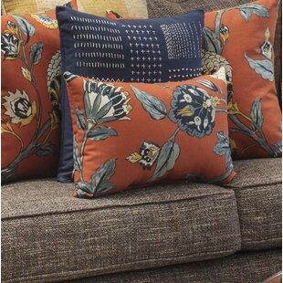 Septak Auretta Persimmon Lumbar Pillow