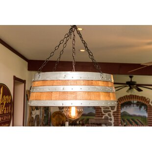 Top of the Barrel 1-Light Pendant by Napa East Collection