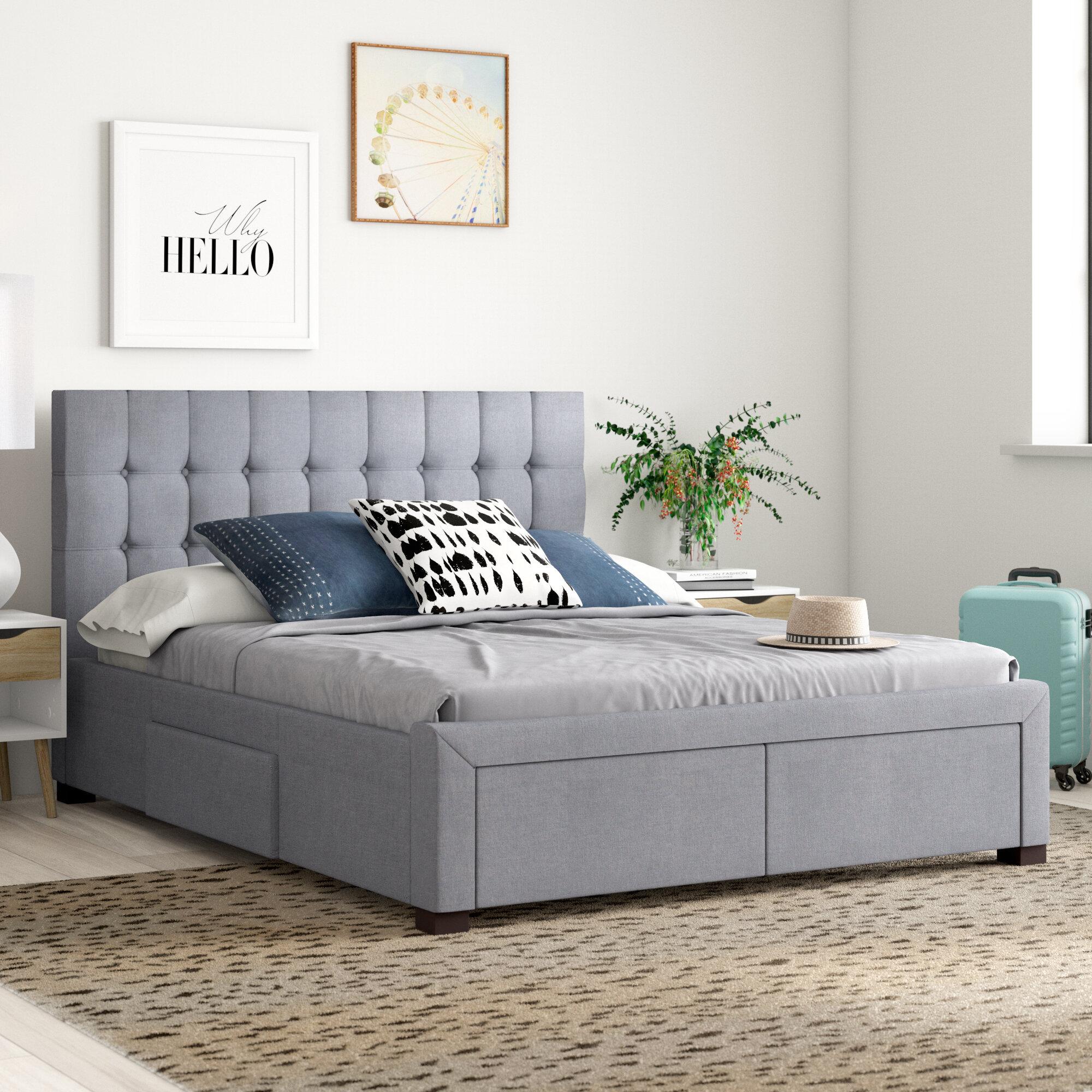 Lawson Upholstered Storage Platform Bed