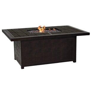 Leona Classical Aluminum Propane Fire Pit Table