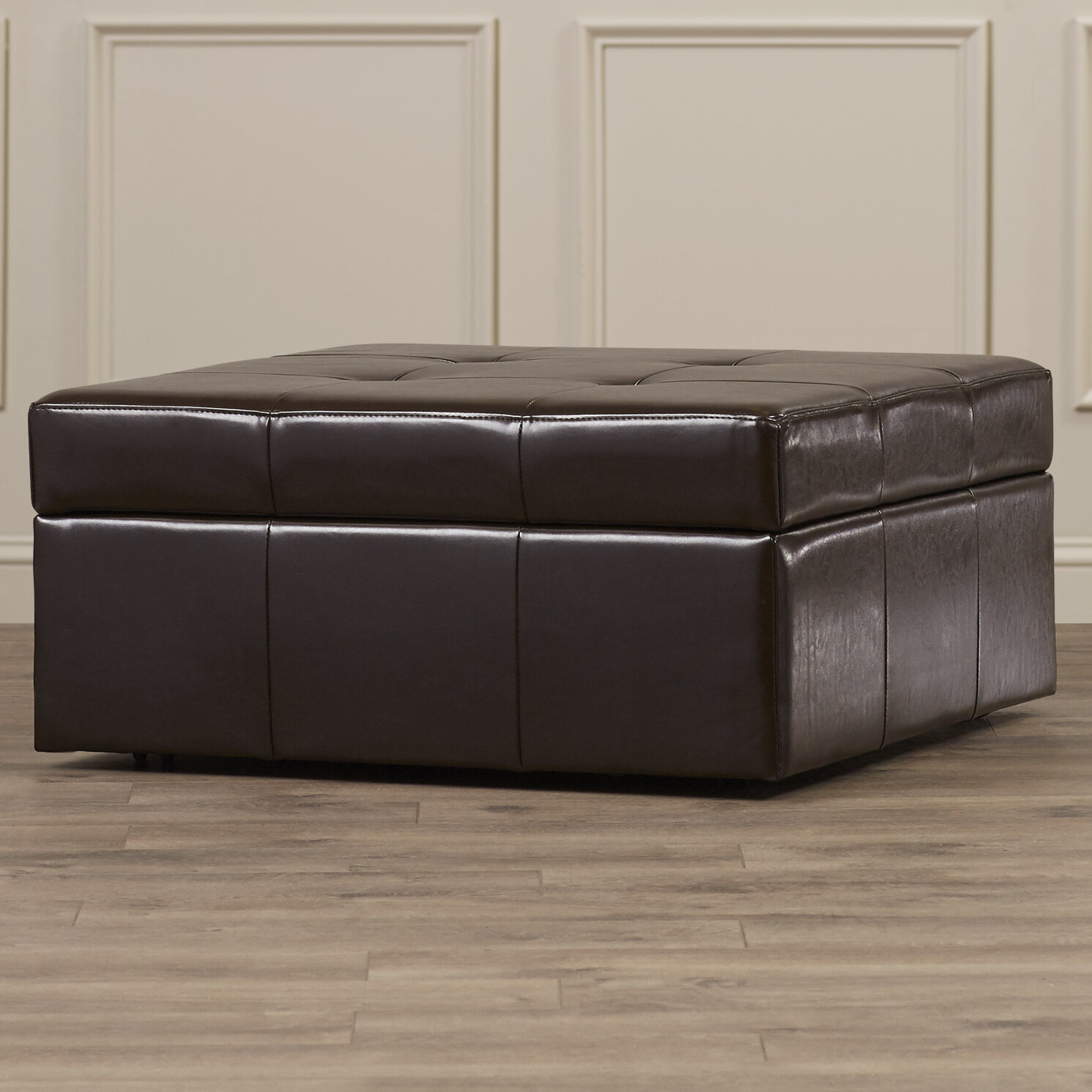 Fantastic Fryth Tufted Storage Ottoman Gmtry Best Dining Table And Chair Ideas Images Gmtryco