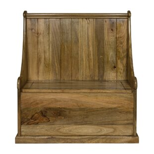 Darcelle Wood Storage Bench By Bloomsbury Market