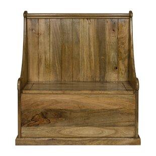 Free S&H Darcelle Wood Storage Bench