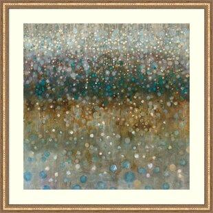 Uttermost Golden Raindrops Art Wayfair