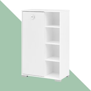 Ayer 65.3cm X 105.2cm Free-Standing Tall Bathroom Cabinet By Hashtag Home