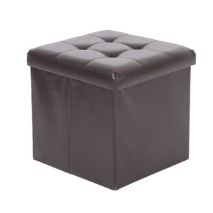 Nebel Foldable Square Storage Ottoman by Ebern Designs