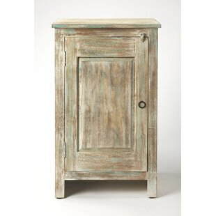 Carlile 1 Door Accent Cabinet by Highland Dunes